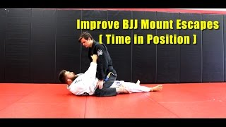 Improve BJJ Mount Escapes by Getting Comfortable