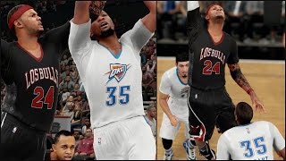 NBA 2K16 MyCAREER - EMBARRASSING FORMER MVP! KEVIN DURANT GETS POSTERIZED! Ep. 52