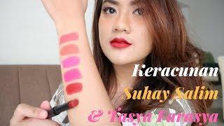 Swatches Lipstick Local Brand 40 ribuan   Alifah Ratu Saelynda