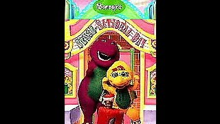 Opening & Closing To Barney's Sense-Sational Day 1997 VHS