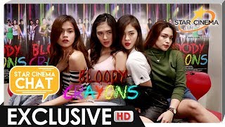 [FULL] Star Cinema Chat with Sofia, Jane, Maris, and Janella | 'Bloody Crayons'