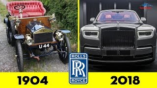 ROLLS ROYCE Evolution From 1926 - 2018 ✨ Cars History
