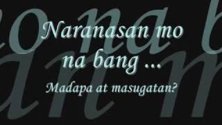 tabi - paraluman ft. kean with lyrics