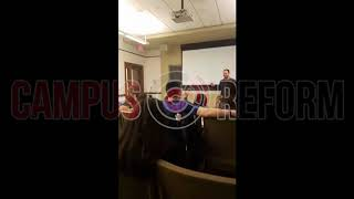 Pro-Palestine students shout down openly gay Israeli vet