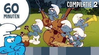 60 minuten Smurfen • Compilatie 2 • De Smurfen