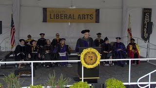 2016 CSULB Commencement - College of Liberal Arts Ceremony 1