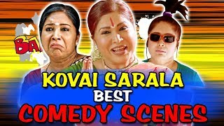 Kovai Sarala Best Comedy Scenes | South Indian Hindi Dubbed Best Comedy Scenes