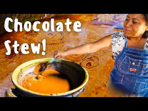 Oaxacan Mole Negro THE MOST MYSTERIOUS Mexican Food in Oaxaca Village Mexico