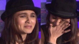 Alia Bhatt Cries at Samjhawan Unplugged