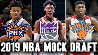 2019 NBA Mock Draft | Who Will Go Number One?