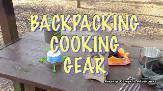 Backpacking Cooking Gear Review