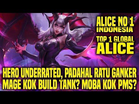 Xxx Mp4 Hal Yang Gw Pelajari Dari Top 1 Global ALICE NO 1 INDONESIA • Mobile Legends Indonesia 3gp Sex
