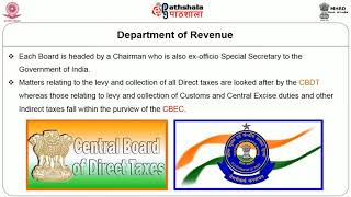 Ministry of Finance Organisation Functions and Role