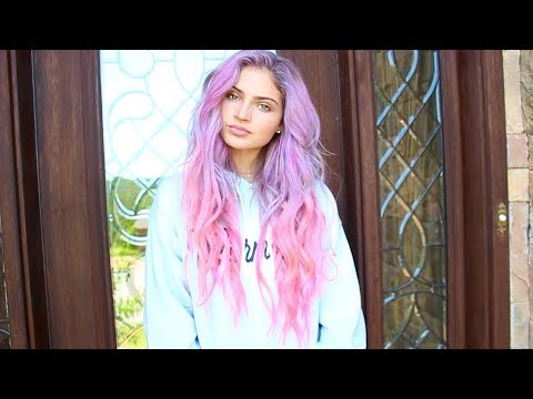 DYING MY HAIR PINK & PURPLE🦄💜💕