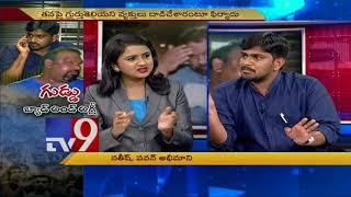 Kathi Mahesh Vs. Attackers || TV9 plays umpire!