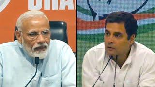 'Unprecedented,' Rahul Gandhi trolls PM Modi's first presser, poses a question