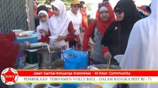 Jalan Santai Keluarga Indonesia Al Khor 2016