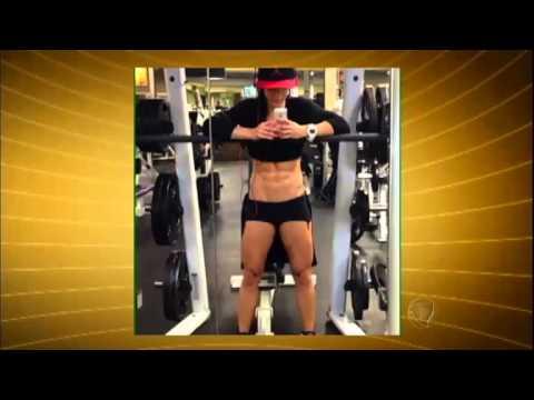 Mulheres aderem à barriga tanquinho visual antes exclusivo aos homens