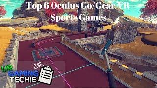 Top 6 Oculus Go/Gear VR Sports Games - 2018 Edition