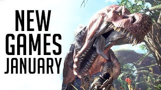 Top 7 NEW Games of January 2018