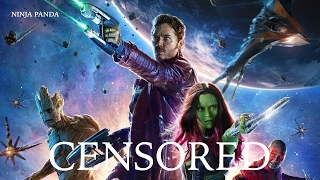 GUARDIANS OF THE GALAXY | Unnecessary Censorship | Censored Disney Marvel Parody Bleep Video
