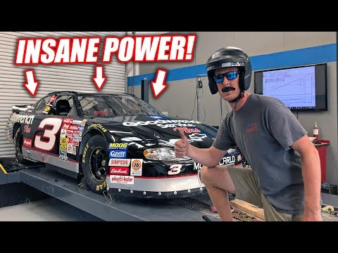 Riding In a LEGIT 800hp Dale NASCAR Absolutely RIPS 8500rpm