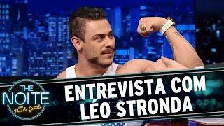 The Noite (30/12/15) - Entrevista com Léo Stronda