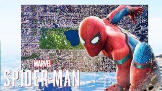 SPIDER-MAN PS4 - The MAP & Open World - DOES SIZE MATTER?