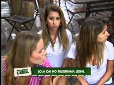 Domingo Legal Lola cai no Telegrama Legal