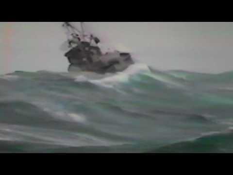 CAPSIZE IN GULF OF ALASKA