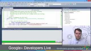 Google+ Developers Live: Google+ C#/.NET Quickstart