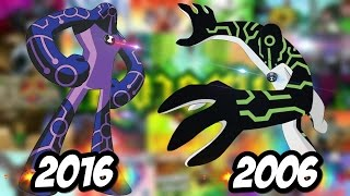Ben 10 2006 vs Ben 10 2016 (antes y despues) Ben 10 original vs Ben 10 reboot