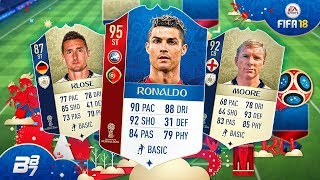 INSANE WORLD CUP SQUAD BUILDER w/ NEW ICONS AND RONALDO! | FIFA 18 WORLD CUP