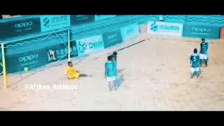 azad mahmood bicycle kick  Afghanistan beach football
