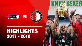 Samenvatting | AZ - Feyenoord - Bekerfinale 2018