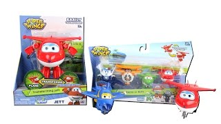 Super Wings Transform-a-Bot, Transforming Jett and Vroom 'n Zoom Unboxing Toy Review