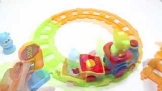 Baby Toys Didactic Musical Train Track With Movements and Animal Sounds