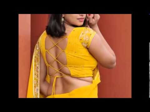 Hot back pose of beatiful south indian girl compilation