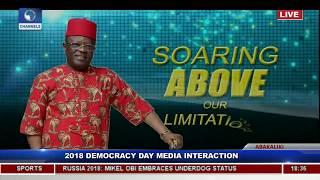 Ebonyi State Governor Holds Democracy Day Executive Media Chat Pt.4