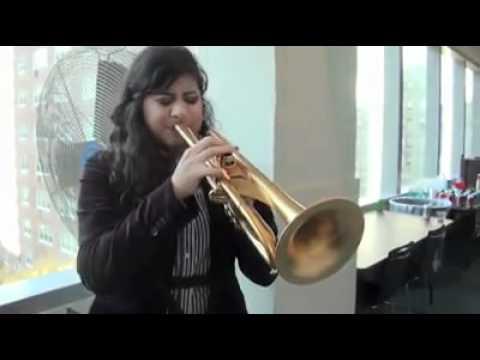 Monette Trumpet Linda Briceño from Venezuela