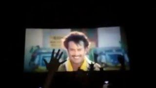 Baasha digitally remastered version | Baasha fdfs theatre response |Thalaivar fans celebration