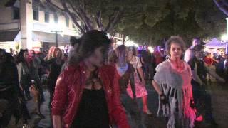 Flash Mob Thriller Redlands 2014