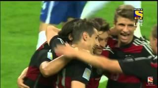 Brazil vs Germany (1-7) Semi final FIFA World cup 2014 ALL GOALS !!!!
