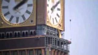 Installation of the Clock Tower Crescent