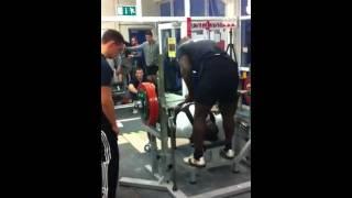 200kg Bench Raw Gary Dada, All England Championships 2011
