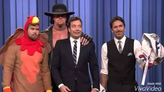 Undertaker scares Jimmy Fallon on his show turkish