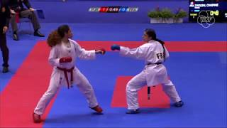 Highlights of Day 01 of Karate