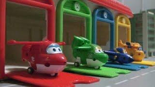 Super Wings Plane Garage  Toys