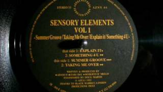 Sensory Elements Vol. 1 - Summer Groove