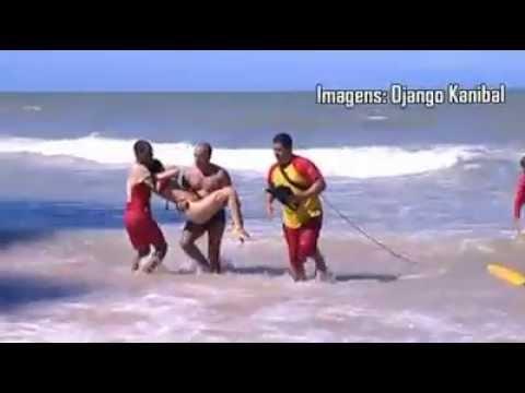 Imagens fortes da turista que foi atacada por tubarão na praia de Boa viagem RECIFE